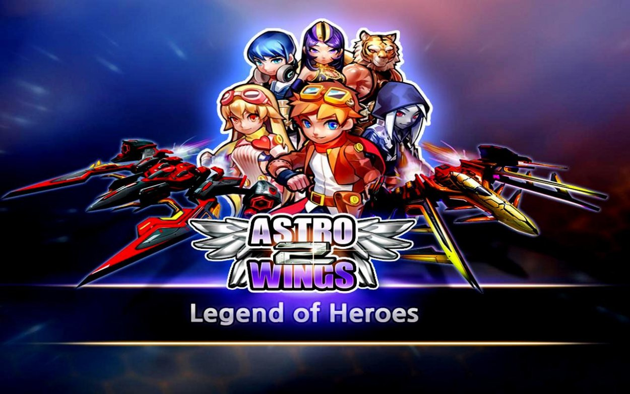 AstroWings2: Legend of Heroes