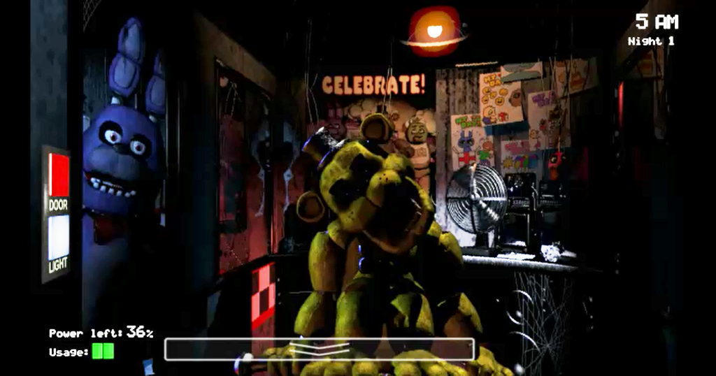 Five nights at freddy's 1,2,3,4 мод