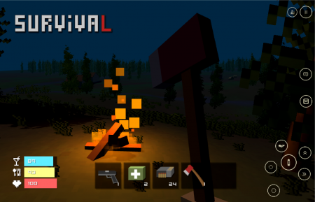 Pixel Z Unturned day